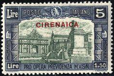 Italian Cyrenaica 1930, Milizia III, 4 valori (S. 68-71)  Dealer Filatelia Monster  Auction Starting Price: 120.00EUR