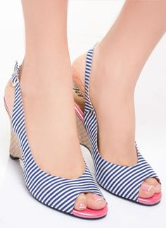 #modadeprati #shoes #stripes