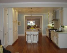 Awesome Inspirations for Cottage Remodel : Awesome Traditional Kitchen Design With Wooden Floor Alder Avenue