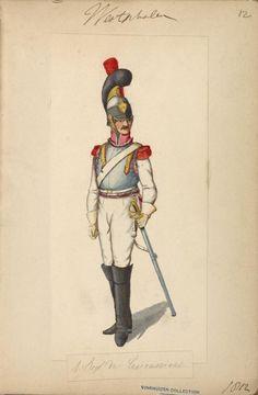 Westphalia; 1st Regt of Cuirassiers(King's) 1810