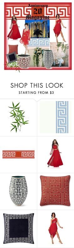 """""""GREEK"""" by cruz-edna on Polyvore featuring CAVO, Versace and Williams-Sonoma"""