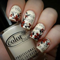 Nail art design is very important for women. There are many ways to decorate your nails with excellent nail art designs. Nowadays, a popular trend of nail design is newspaper nail art design. Newspaper nail art design is one of the simplest, fastest Newspaper Nail Art, Vintage Newspaper, Nail Manicure, Nail Polish, Manicure Ideas, Vintage Nail Art, Floral Nail Art, Nagel Gel, Flower Nails