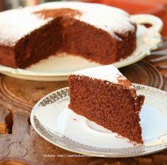 Torta soffice al cioccolato facile e veloce- prajitura pufoasa cu ciocolata