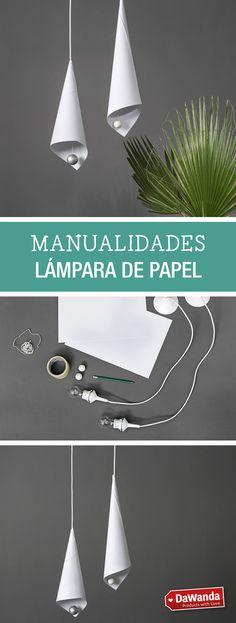Tutorial DIY - CÓMO HACER PANTALLAS DE LÁMPARA DE PAPEL en DaWanda.es