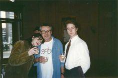 Courtney Love, Miloš Forman and Edward Norton | Rare, weird & awesome celebrity photos