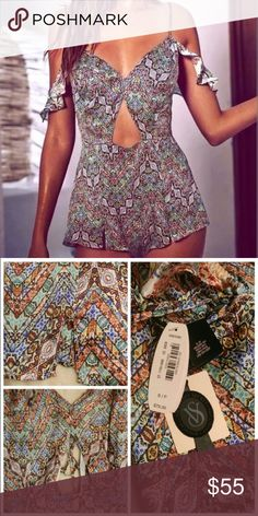 VS Designer Collection Lingerie Romper Victoria's Secret Designer Collection lingerie romper/teddy NWT 100% silk. Exactly as seen on model. Originally $78 plus tax Victoria's Secret Intimates & Sleepwear