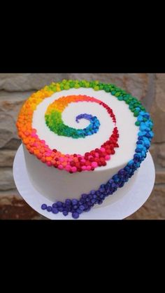 Colours of the wind cake.