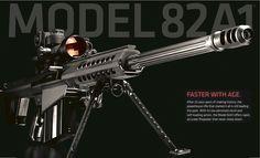 Barrett M82A1 .50 BMG w/BORS Sniper Rifle