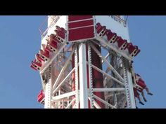 Stratosphere Big Shot Ride Las Vegas. http://www.tipsfortravellers.com/2011/08/las-vegas-stratosphere-scary-crazy-rides-not-for-the-faint-hearted.html