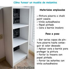 1000 images about pintar muebles o decorarlos on - Pintar muebles de formica ...