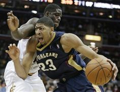 (01/29/2014): Anthony Davis had 30 points and 8 blocks in the New Orleans Pelicans' 100-89 win over the Cleveland Cavaliers. #NBA #SLAMPOTD #SLAMMagazine #AnthonyDavis