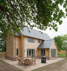 Foxwhelp Barn - Border Oak - oak framed houses, oak framed garages and structures.