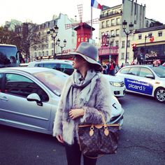 From Paris with love ❤️ #moulinrouge #paris #december #2014