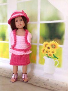 GOTZ HANNAH AMERICAN GIRL DOLL DESIGNA FRIEND 2 SHADES OF PINK O/FIT INC UNDIES   eBay