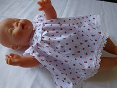 Dolls Clothes, Dress  Panties to fit 17 inch ( 43cm) Baby Dolls, Baby Born £7.99