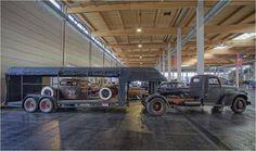 Mid 1940s Chevy long frame hauler rat rod Pic 1
