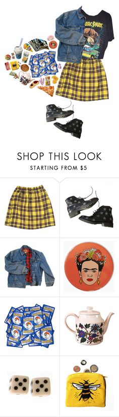 """""""Curbside Prophet"""" by black-and-white-hipster ❤ liked on Polyvore featuring Yves Saint Laurent, Wrangler, Alpine and Hello Kitty"""