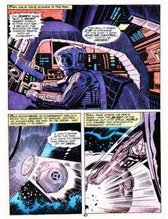 Jack Kirby - 2001: A Space Odyssey