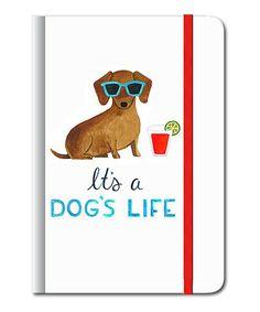 'It's A Dog's Life' Hardcover Journal #zulily #zulilyfinds