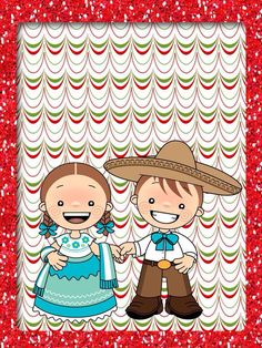 Fiestas patrias mexicanas 3 Caleb Y Sofia, Fiesta Decorations, Award Certificates, Binder Covers, Teacher Hacks, Disney Cartoons, Party Themes, Diy And Crafts, Projects To Try