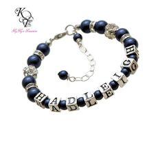 Flower Girl Bracelet, Personalized Flower Girl Gifts, Personalized Jewelry, Flower Girl Gift, Keepsake Bracelet, Flowergirl