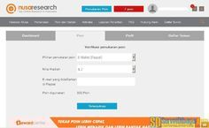 Pilihan jumlah poin Pilihan jumlah poin yang akan ditukarkan dengan PayPal | SurveiDibayar.com