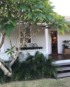 Nautical Beach 3 Piece Photo Frame, Sailboat and Hearts Accent (Natural) - Home Style Corner Exterior Colors, Exterior Design, Interior And Exterior, Weatherboard House, Queenslander, Dream Garden, Home And Garden, Front Verandah, Front Deck