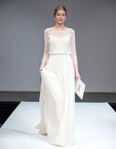 ... Chic & Moderne Sablier Robe de Mariée  Robes de Mariée  Pinterest