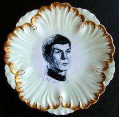 Spock Portrait Plate