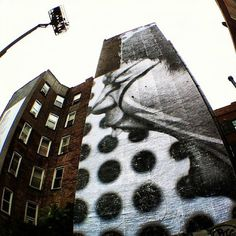 JR New Mural @ NYC