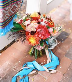 spectacular colorful bouquet featuring proteas and airplants by Oleander Botanicals Floral & Events Bouquet Bride, Protea Bouquet, Wedding Bouquets, Wedding Themes, Wedding Decorations, Wedding Ideas, Floral Wedding, Wedding Flowers, Eclectic Wedding