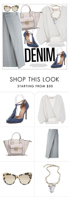 """""""Jean-ious Accessories"""" by teoecar ❤ liked on Polyvore featuring Marni, Joseph and STELLA McCARTNEY"""