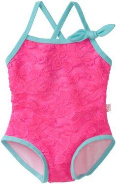 Amazon.com: Floatimini Baby-Girls Infant Sweet Lace Bathing Suit: Clothing