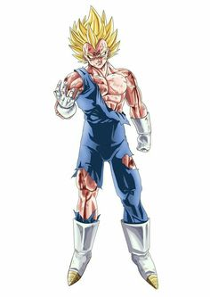 Majin vegeta - Dragon ball Z