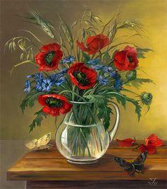 Gallery.ru / Фото #10 - Поглядите, там и тут, маки красные цветут! - Anneta2012