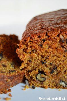 Bread Recipes Sweet Greek Yogurt Ideas For 2019 Vegan Carrot Cakes, Vegan Cake, Vegan Desserts, Easy Desserts, Easy Bread Recipes, Sweet Recipes, Vegan Recipes, Snack Recipes, Snacks