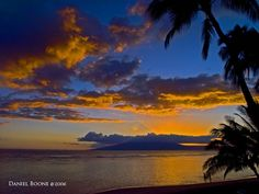 Maui, Hawaii really does have some beautiful sunsets.