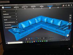 Sohvan 3D-skannaus Einscan HX 3D-skannerilla. Couch, 3d, Furniture, Home Decor, Settee, Decoration Home, Sofa, Room Decor, Home Furnishings