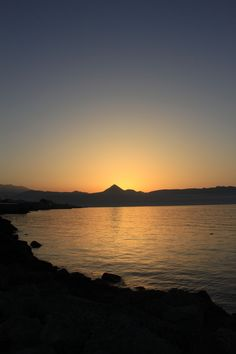 As shot,no filters sunset Crete