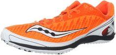 Saucony Mens Kilkenny XC5 Cross-Country Shoe Vizipro Orange/White 11 M US