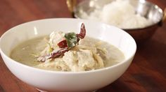 Thai Green Chicken Curry by Everyday Gourmet (Marion Grasby recipe)