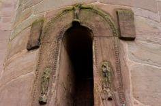 Romanesque doorway                 Brechin Round Tower Entrance