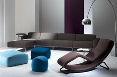 """A chaise-longue that speaks of extremely high levels of artisanship and technology. From the moment you lay eyes on it, """"Monza"""" expresses comfort, relaxation and pleasure."""