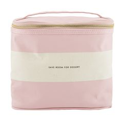 Enjoy a stylish al fresco lunch with this Rugby Stripe Lunch Tote from kate spade new york. Made from coated linen material, it is insulated to keep food chilled and features a classic striped design