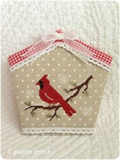 The little stitcher - little red bird