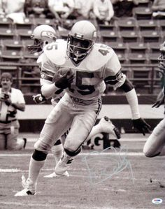 Kenny Easley Autographed 16x20 Photo Seattle Seahawks PSA/DNA Stock #30857