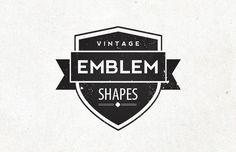 Medialoot - Vintage Emblem Shapes