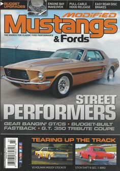 Modified Mustangs and Fast Fords magazine GT CS Tribute coupe Engine makeover