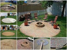 Round Paver Patio Fire Pit Is An Easy DIY | The WHOot