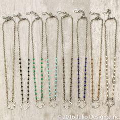 Amanda (silver) #juliodesigns #vintagejewelry #handmade